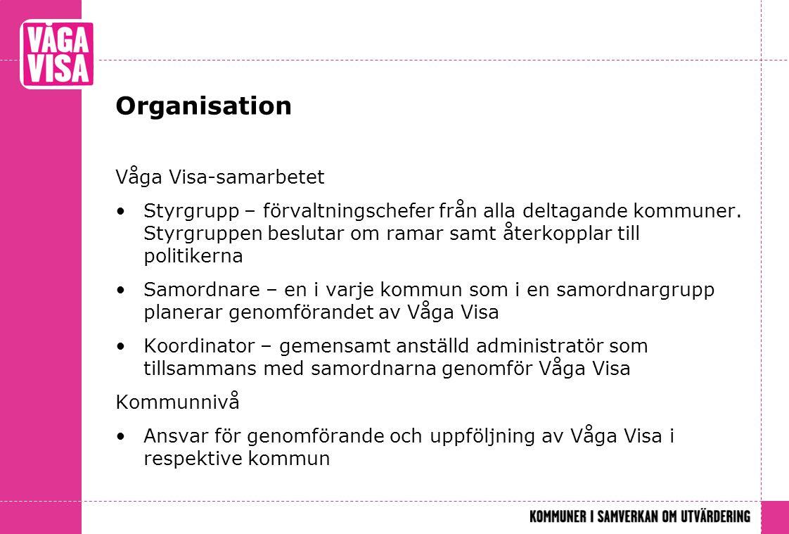 Organisation Våga Visa-samarbetet