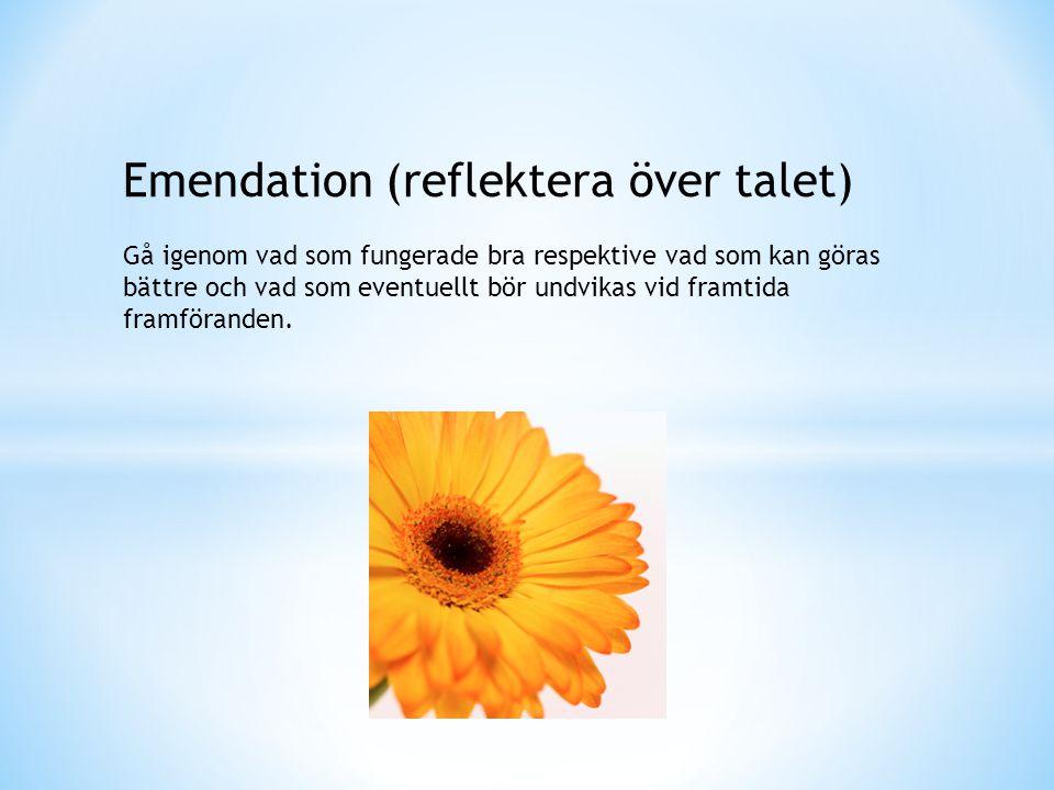 Emendation (reflektera över talet)
