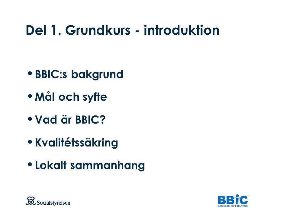 Del 1. Grundkurs - introduktion
