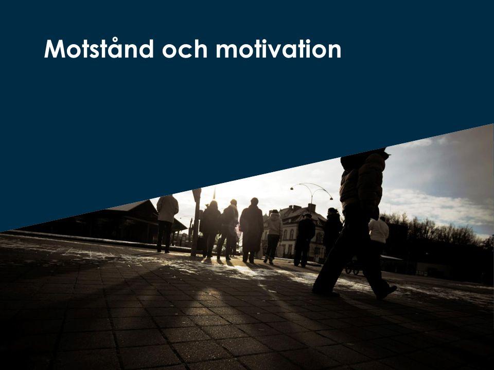 Motstånd och motivation