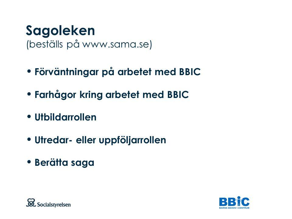 Sagoleken (beställs på www.sama.se)