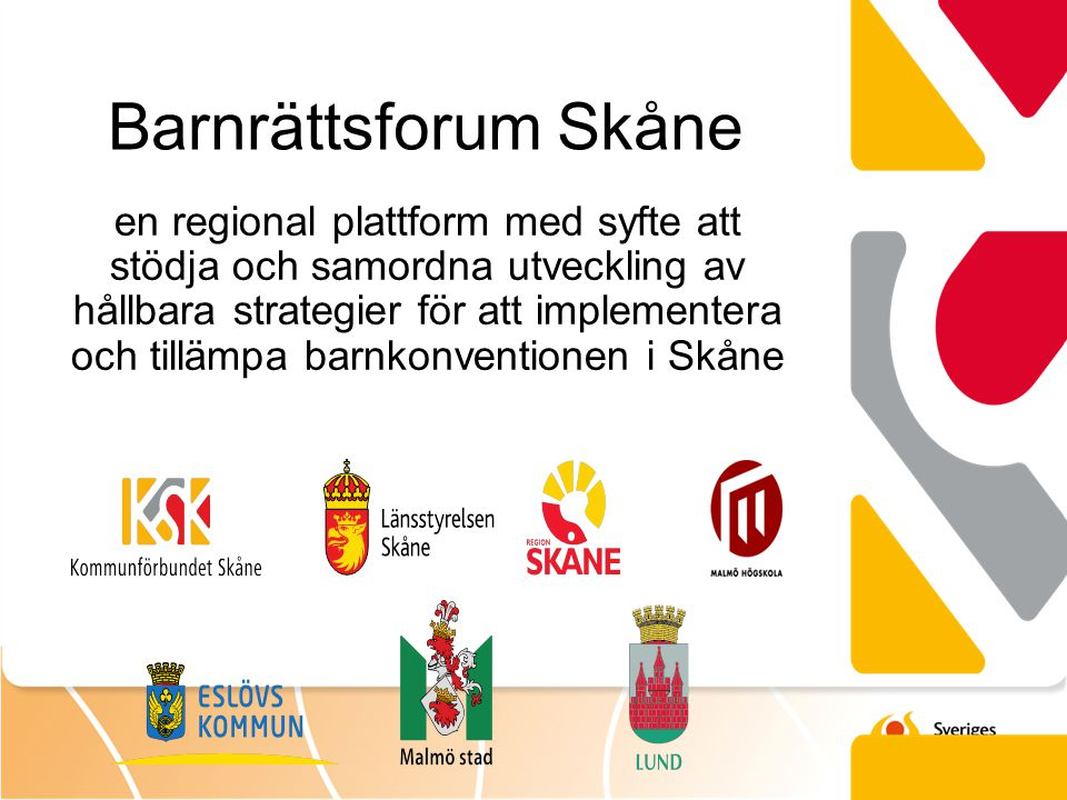 Barnrättsforum Skåne