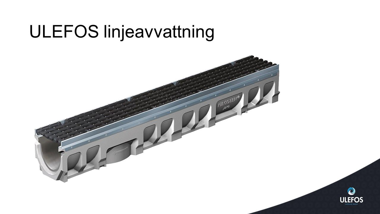 ULEFOS linjeavvattning