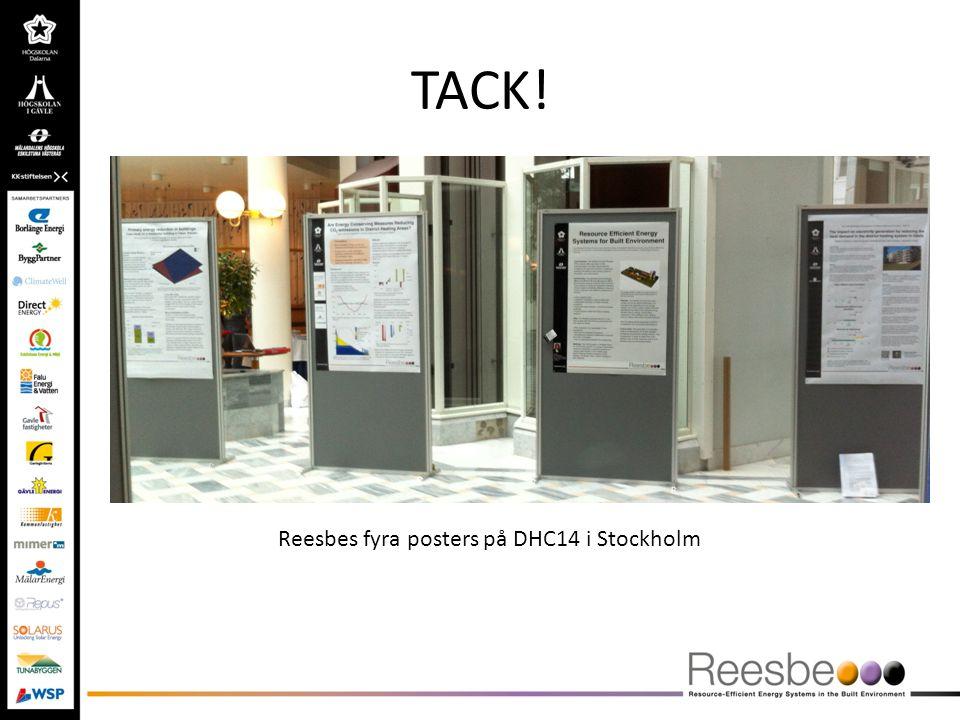 TACK! Reesbes fyra posters på DHC14 i Stockholm