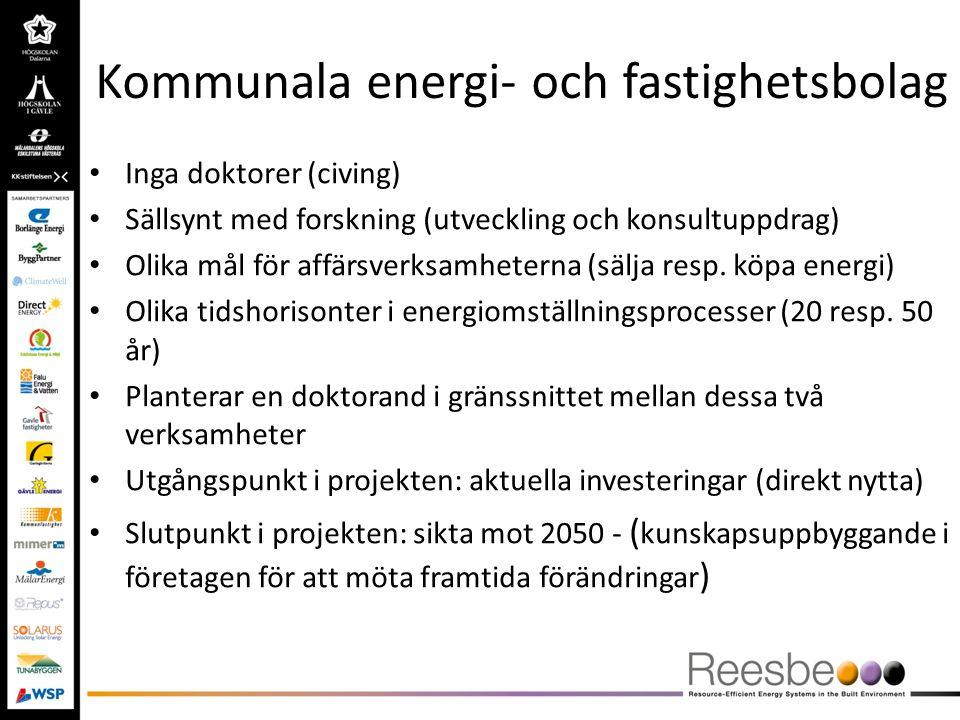 Kommunala energi- och fastighetsbolag
