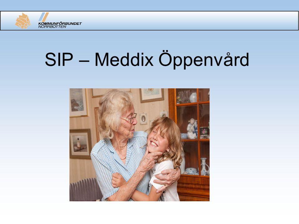 SIP – Meddix Öppenvård