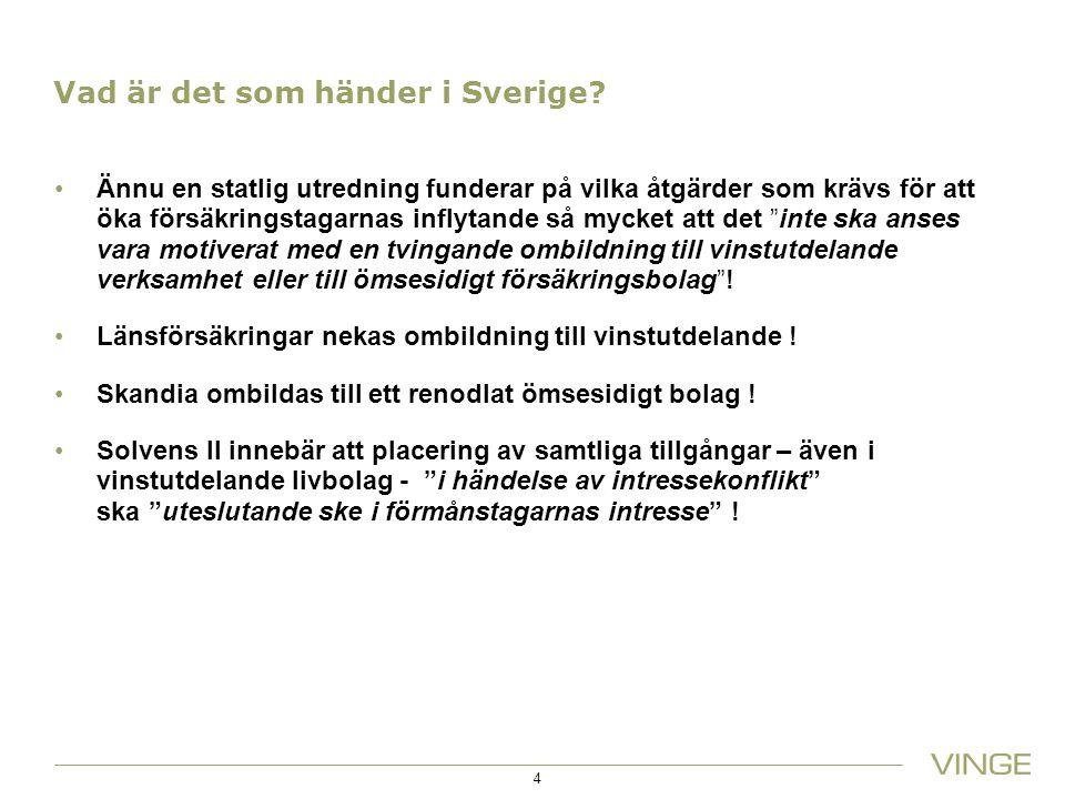 Vad är det som händer i Sverige