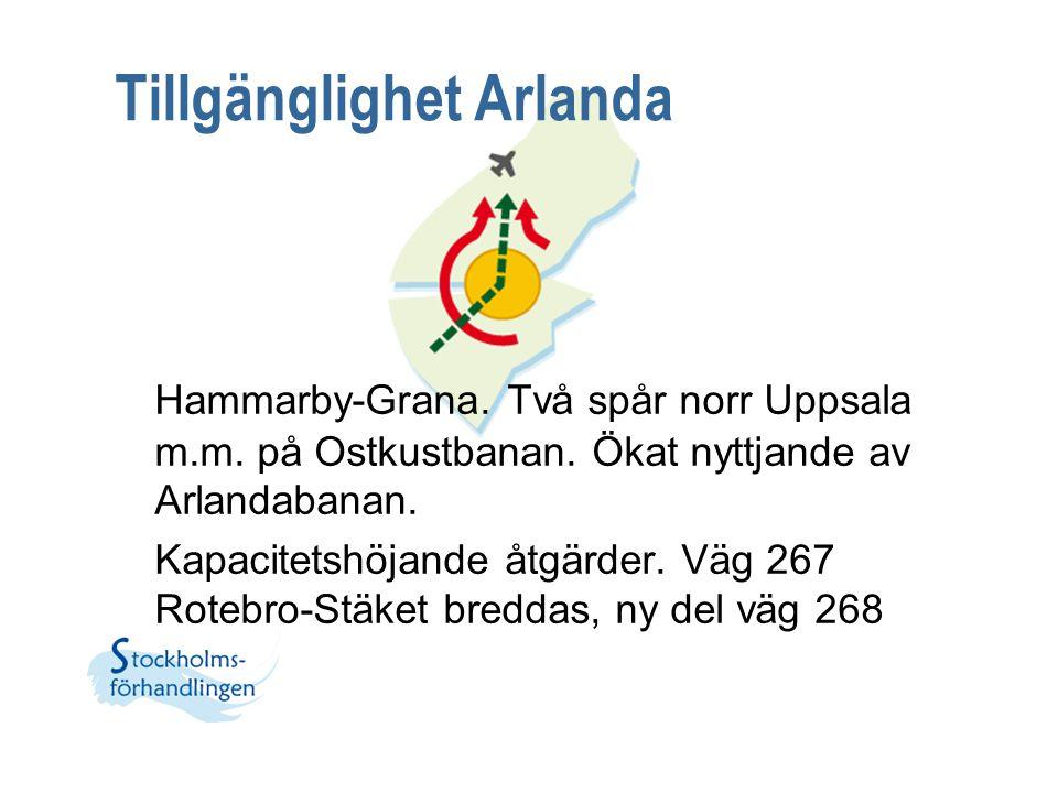 Tillgänglighet Arlanda