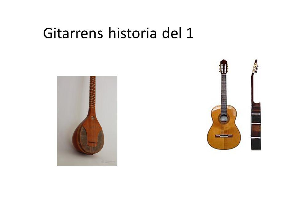 Gitarrens historia del 1