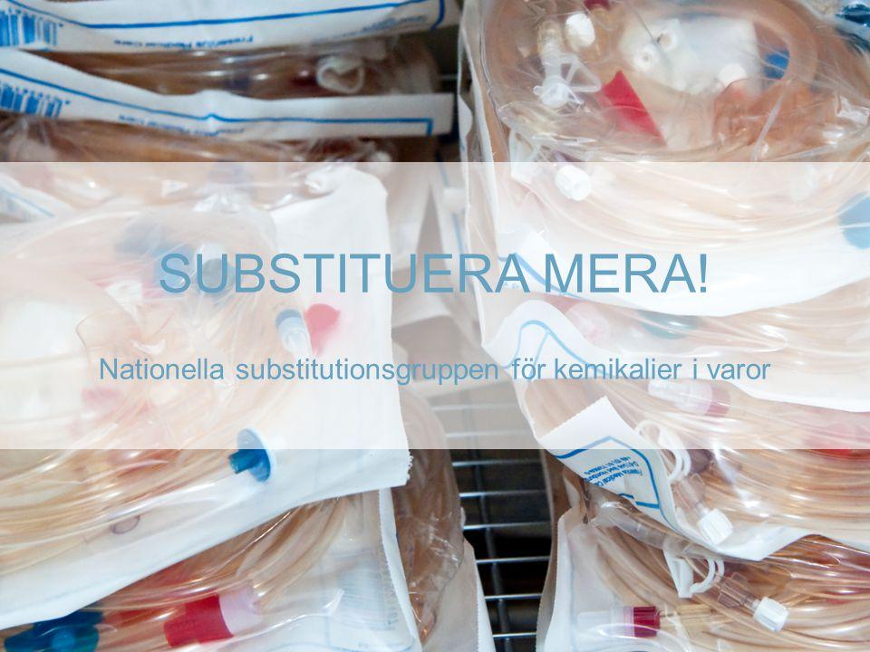 Nationella substitutionsgruppen för kemikalier i varor