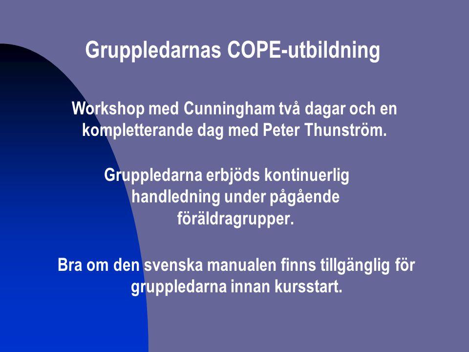 Gruppledarnas COPE-utbildning