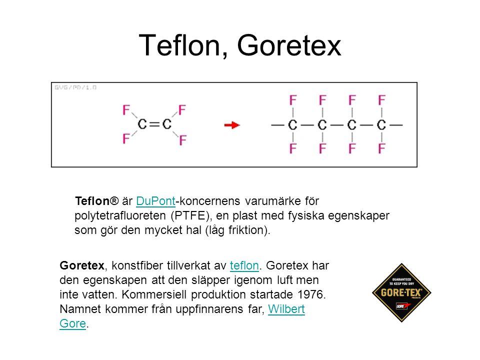 Teflon, Goretex