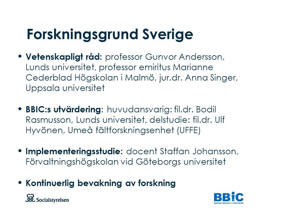 Forskningsgrund Sverige