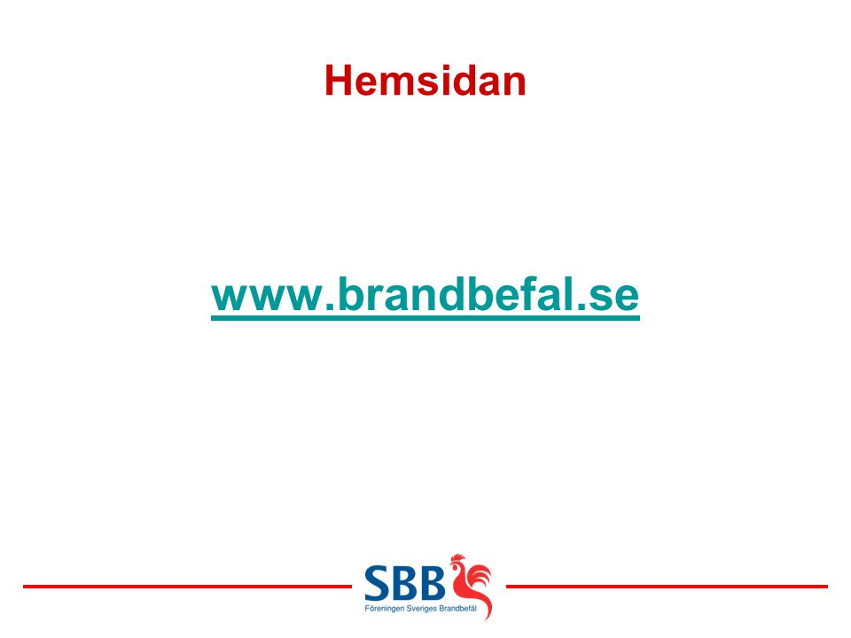 Hemsidan www.brandbefal.se