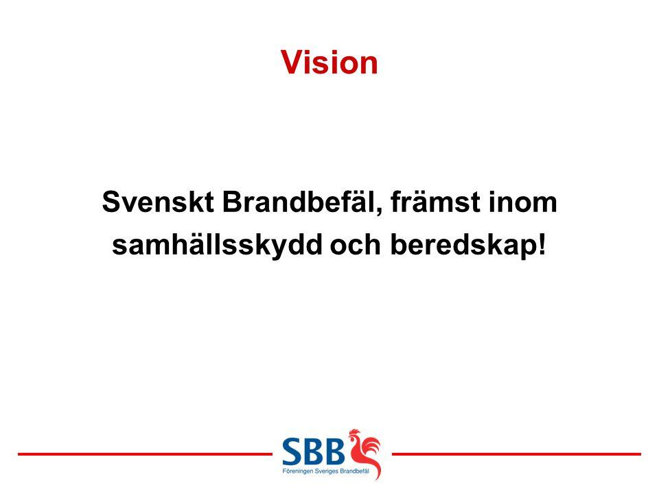Svenskt Brandbefäl, främst inom samhällsskydd och beredskap!
