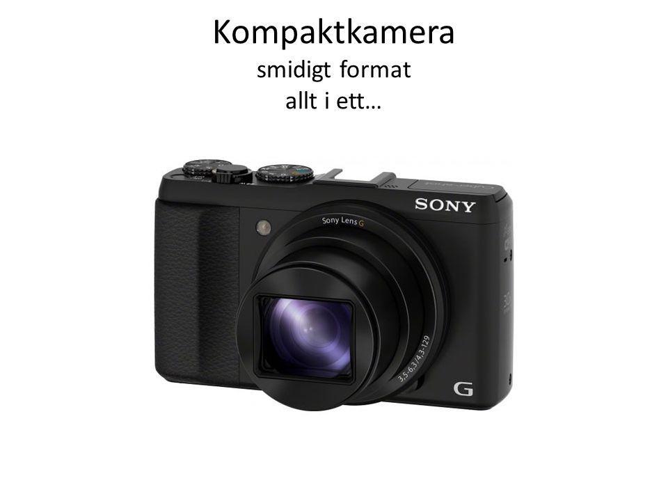 Kompaktkamera smidigt format allt i ett…