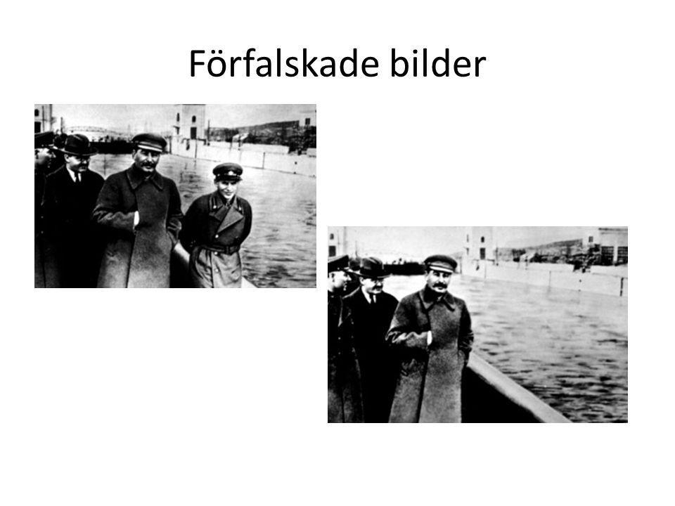 Förfalskade bilder