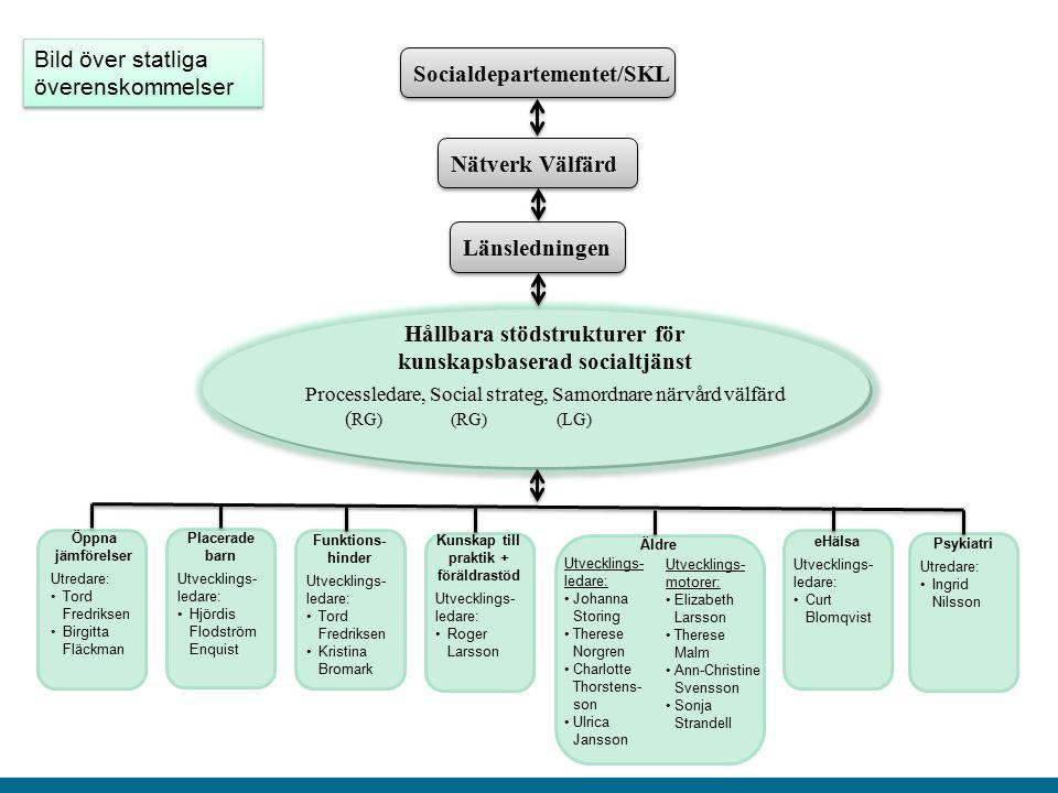 Hållbara stödstrukturer för kunskapsbaserad socialtjänst