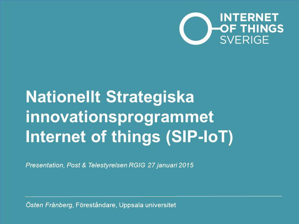 Presentation, Post & Telestyrelsen RGIG 27 januari 2015