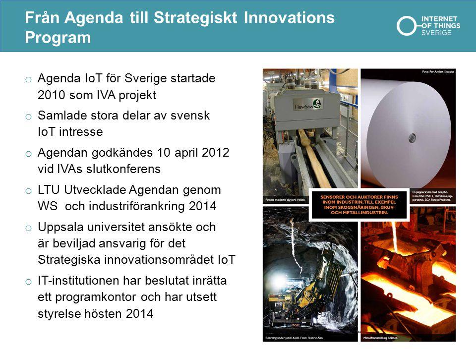 Från Agenda till Strategiskt Innovations Program