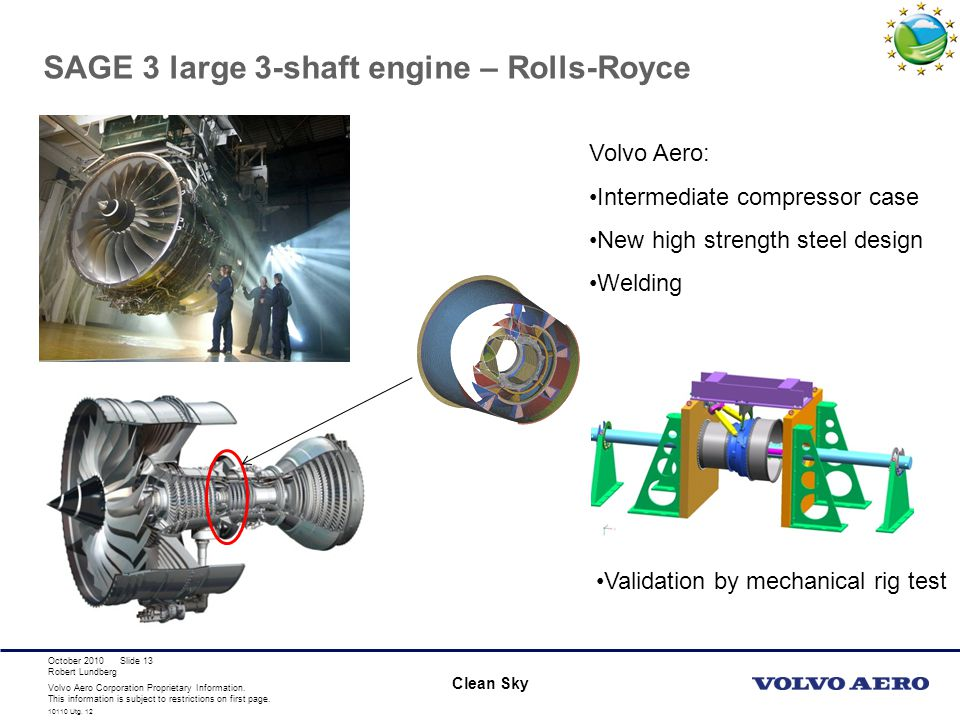 SAGE 3 large 3-shaft engine – Rolls-Royce