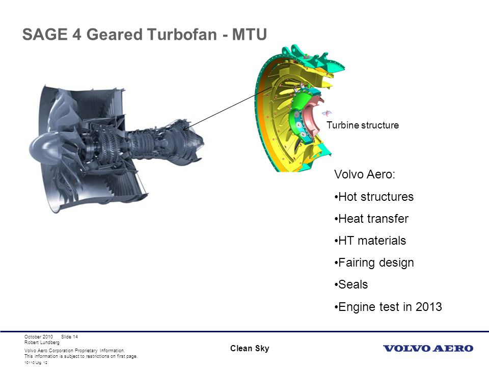 SAGE 4 Geared Turbofan - MTU