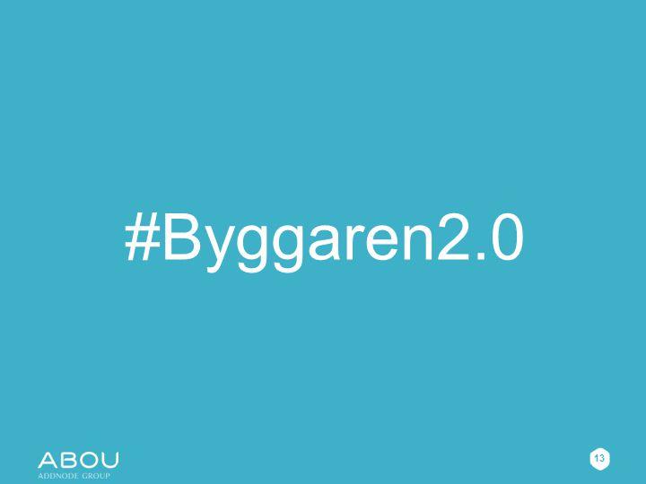 #Byggaren2.0