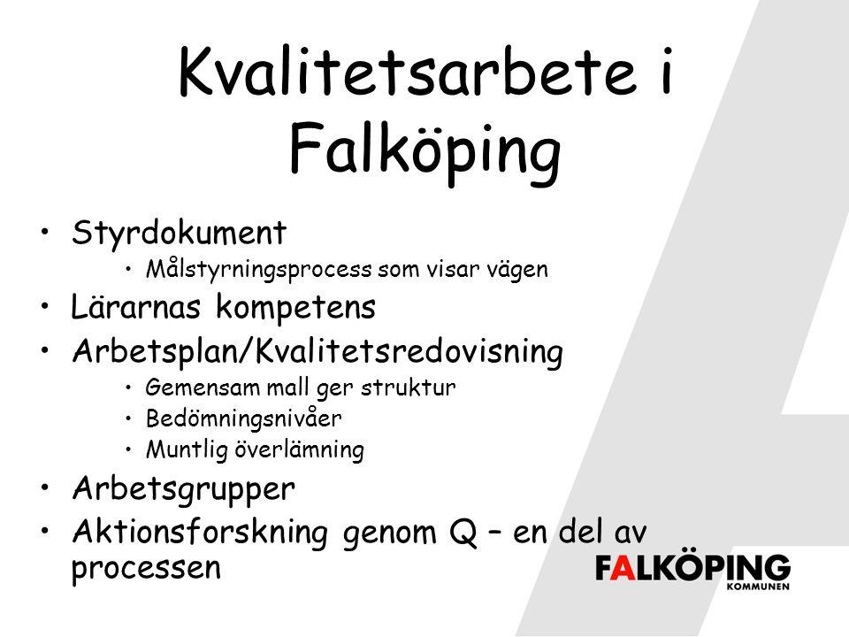 Kvalitetsarbete i Falköping