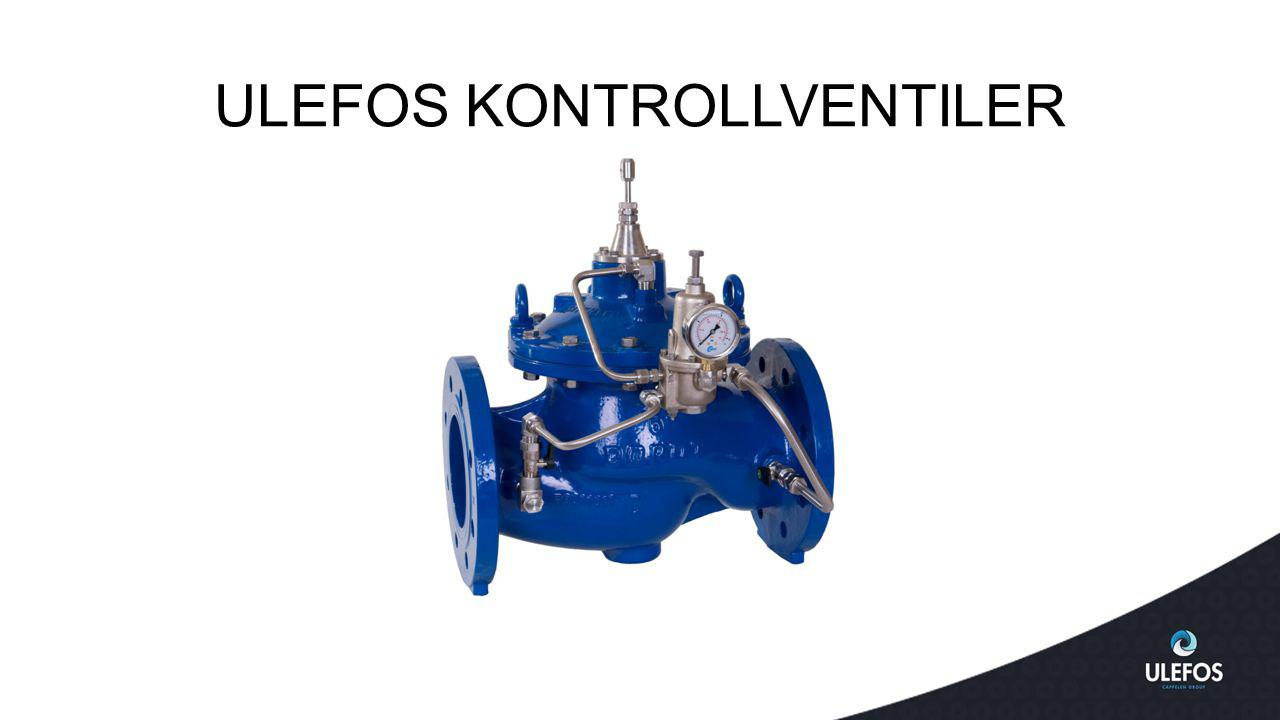ULEFOS KONTROLLVENTILER