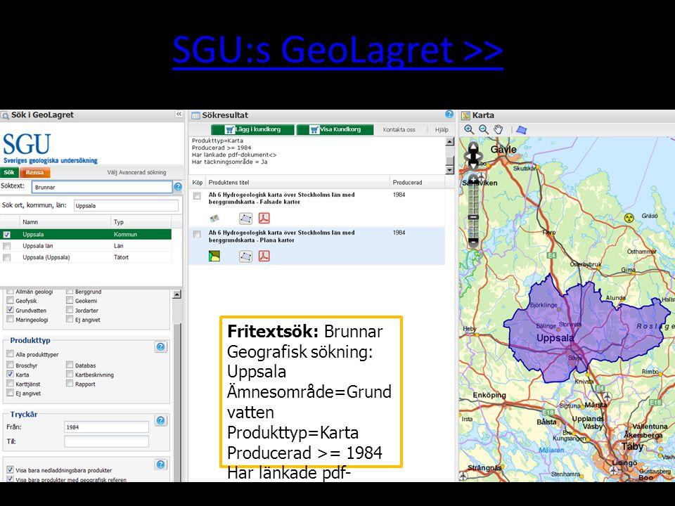 SGU:s GeoLagret >>