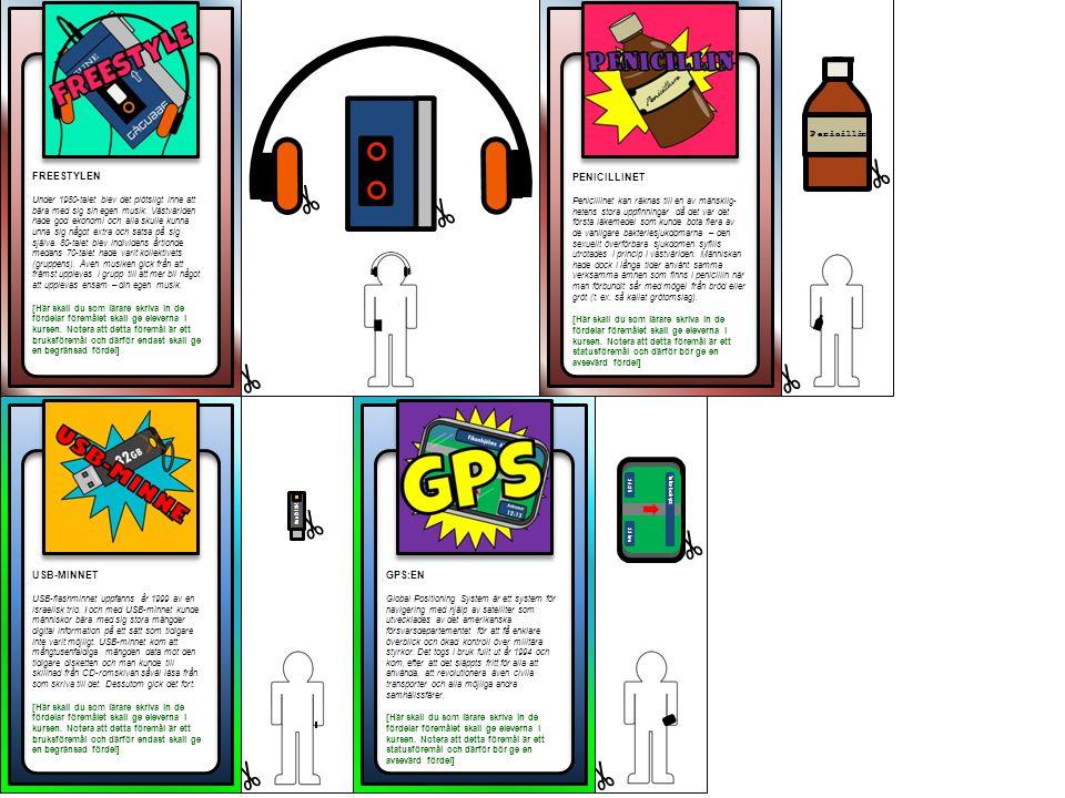 FREESTYLEN PENICILLINET USB-MINNET GPS:EN