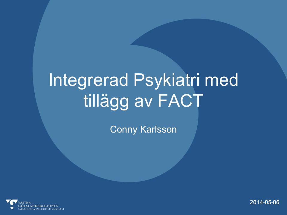 Integrerad Psykiatri med tillägg av FACT