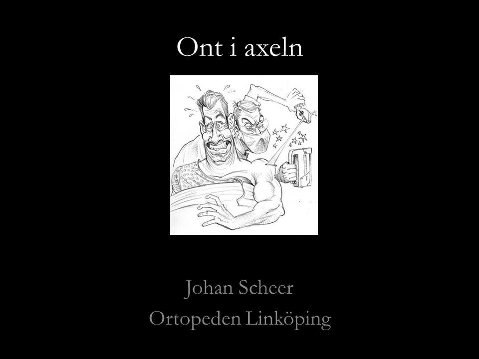 Johan Scheer Ortopeden Linköping