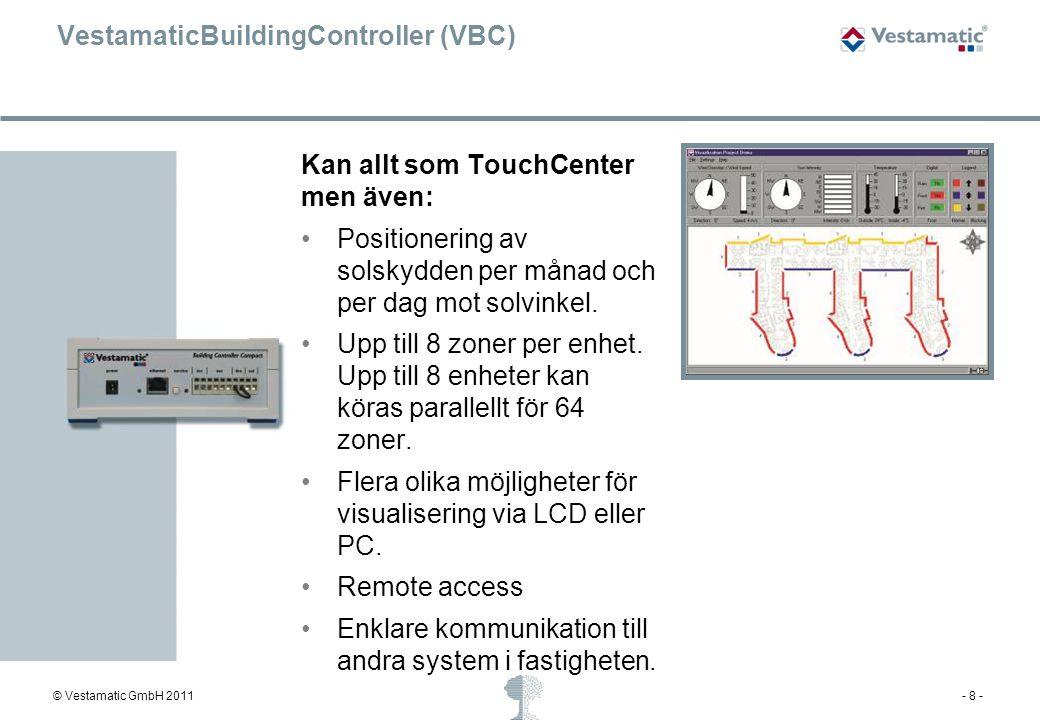 VestamaticBuildingController (VBC)