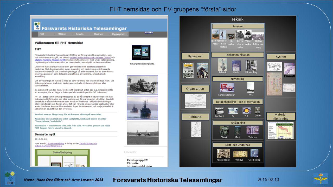 Försvarets Historiska Telesamlingar