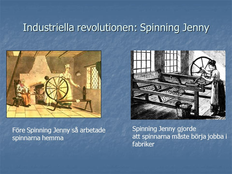 Industriella revolutionen: Spinning Jenny