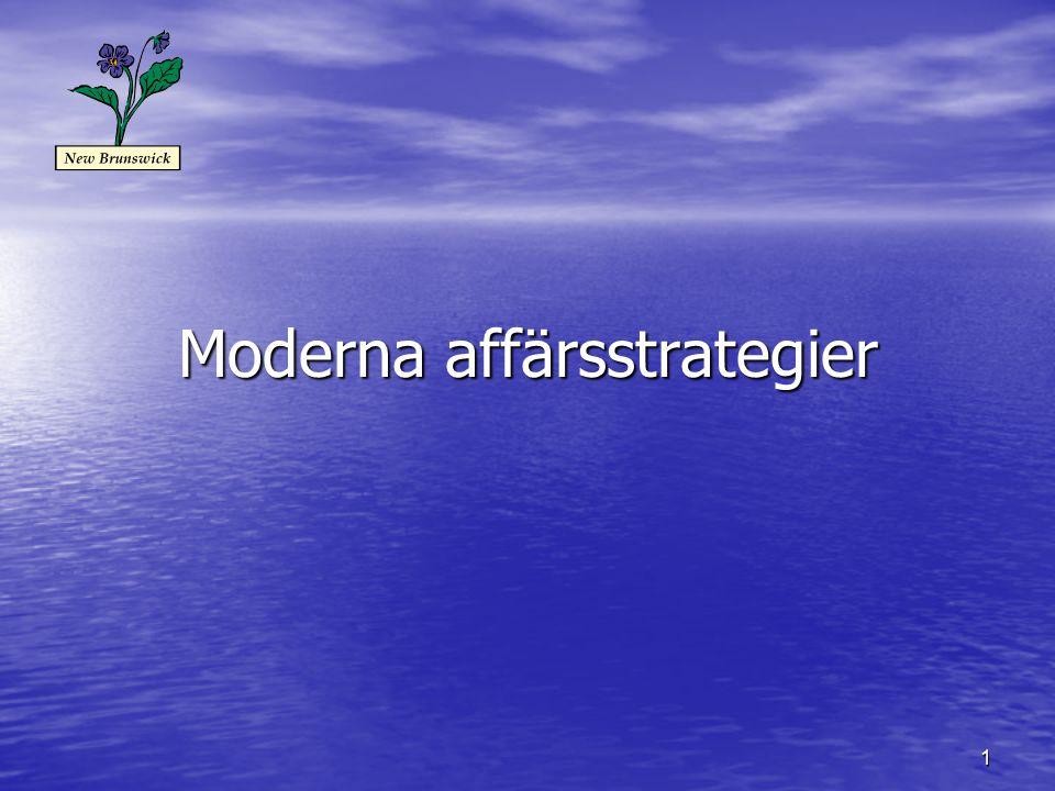 Moderna affärsstrategier