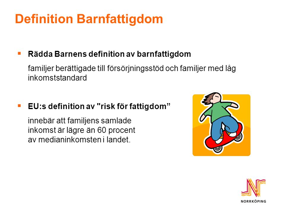 Definition Barnfattigdom