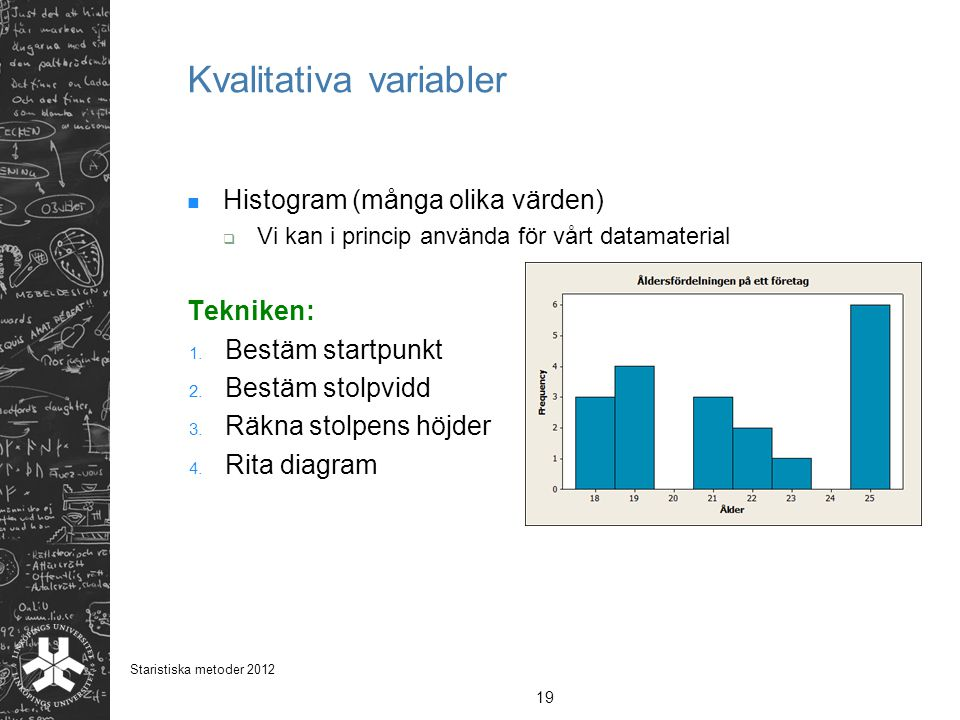 Kvalitativa variabler