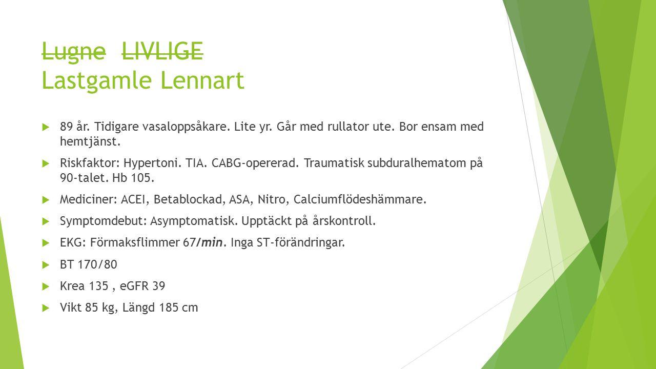 Lugne LIVLIGE Lastgamle Lennart