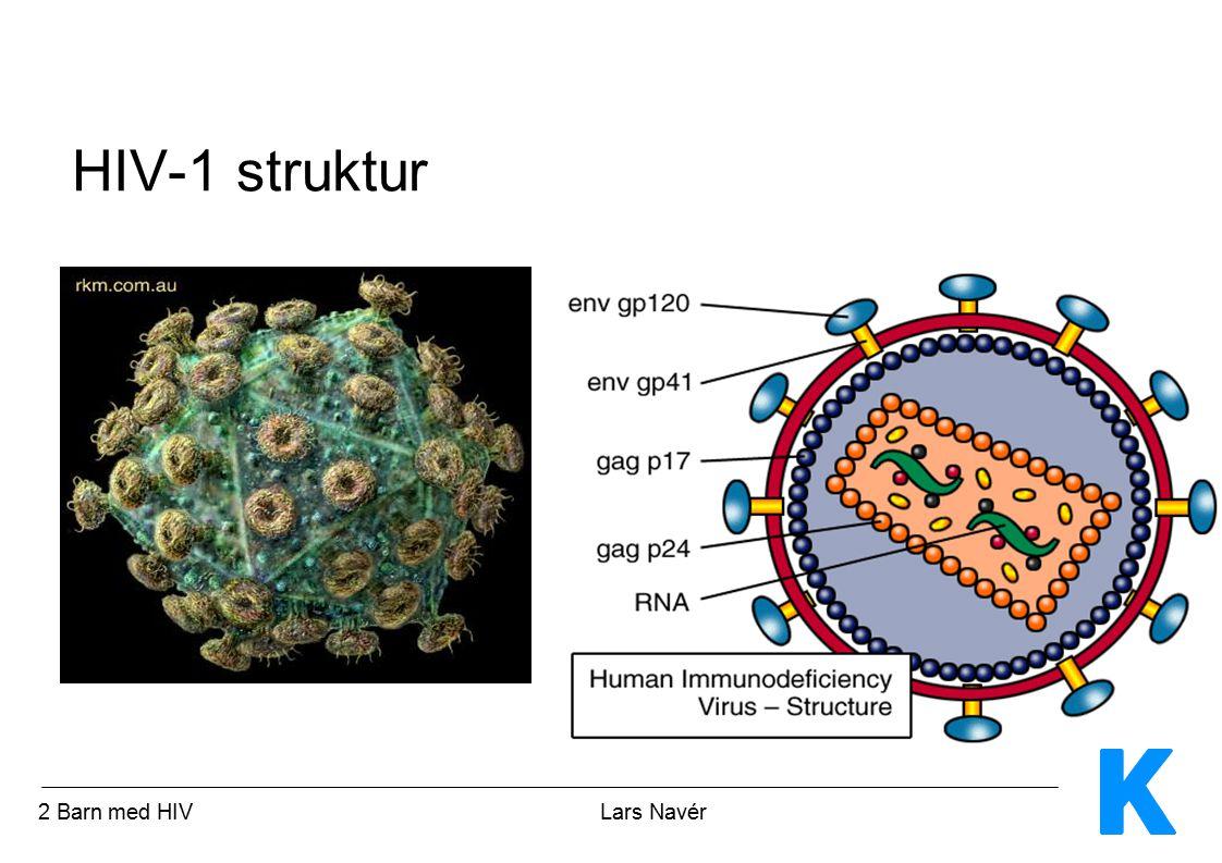 HIV-1 struktur 2 Barn med HIV Lars Navér.