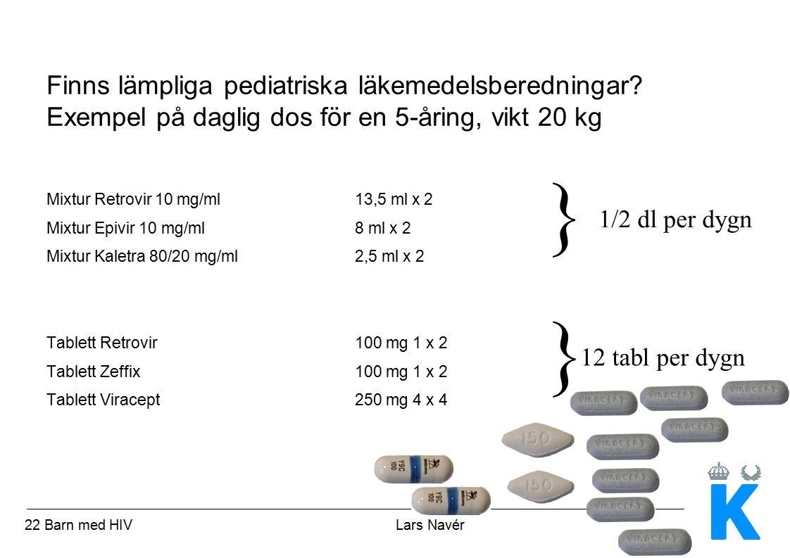 Finns lämpliga pediatriska läkemedelsberedningar