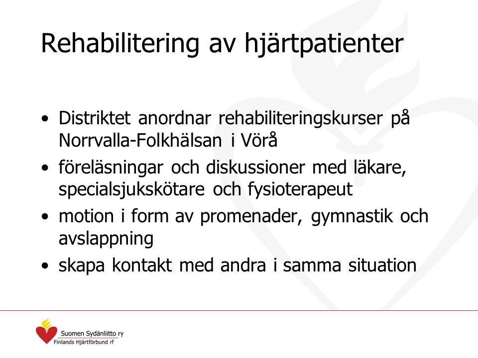Rehabilitering av hjärtpatienter