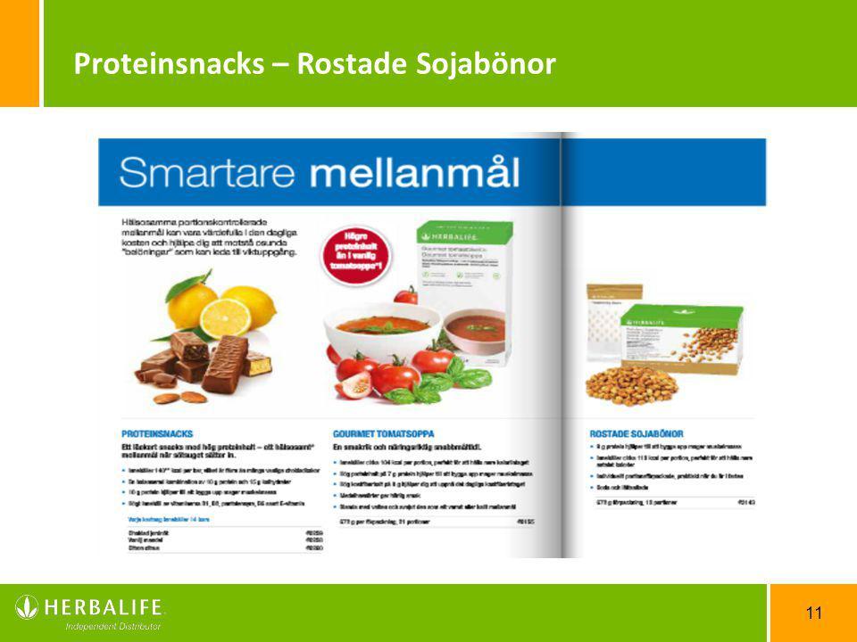 Proteinsnacks – Rostade Sojabönor