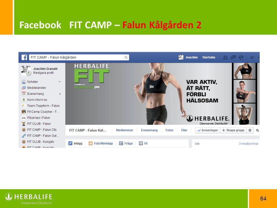 Facebook FIT CAMP – Falun Kålgården 2