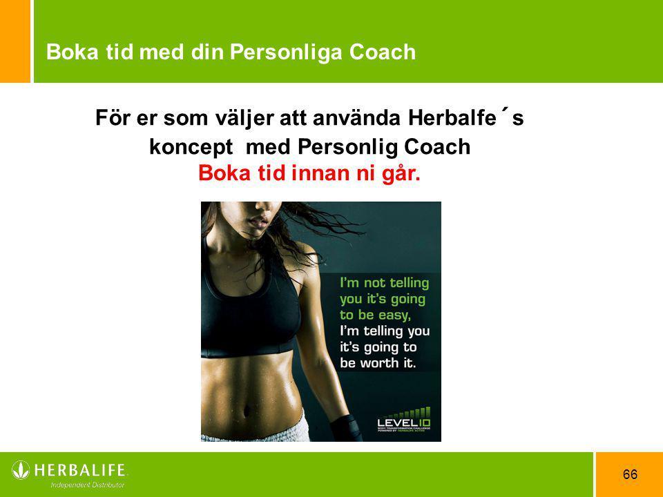 Boka tid med din Personliga Coach