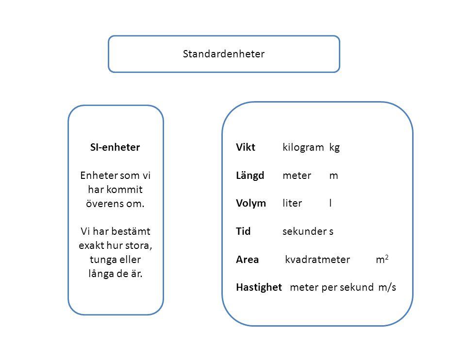 Hastighet meter per sekund m/s SI-enheter