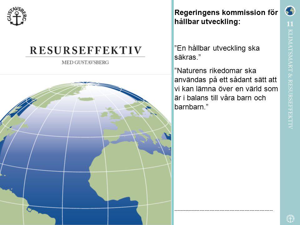 Regeringens kommission för hållbar utveckling: