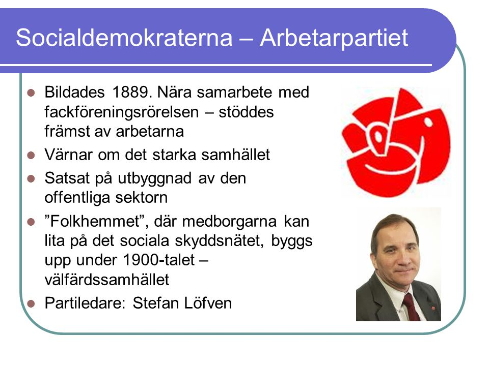 Socialdemokraterna – Arbetarpartiet