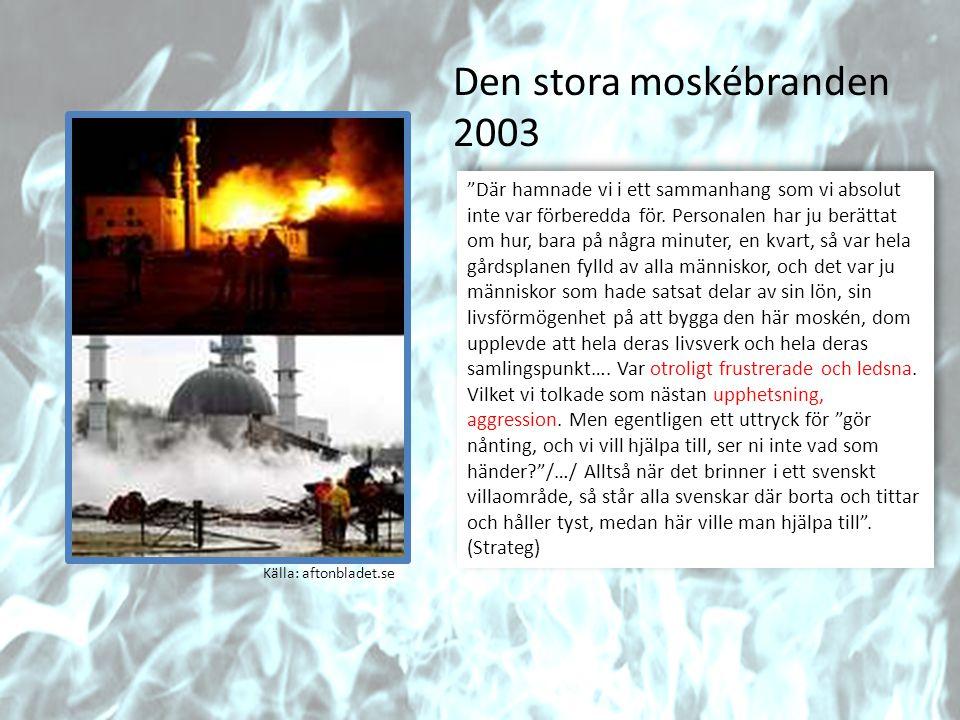 Den stora moskébranden 2003